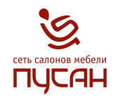 Логотип сети салонов мебели Пусан