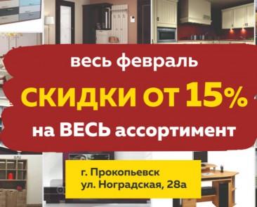 Акция Прокопьевск февраль 2019