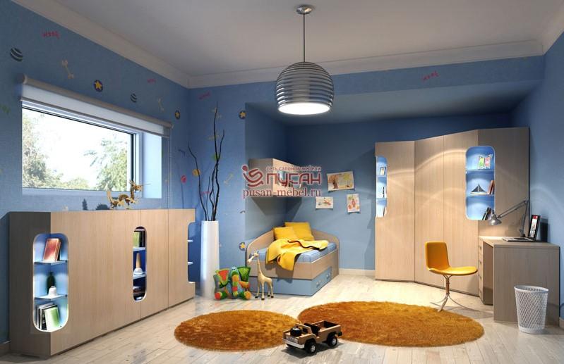 Детская мебель атлантида, сюита, фреш, рио мебельной фабрики.
