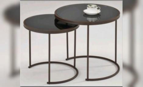 Изображение - Столики MK-2376-RK черное стекло