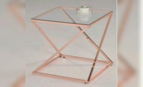 Изображение - Столик MK-2379-RD розовое золото