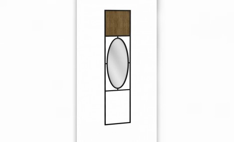 Изображение - Панель для прихожей с зеркалом Loft