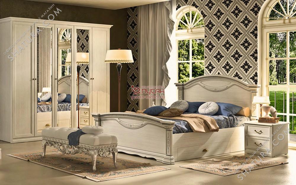 Спальня светлая шатура в интерьере фото